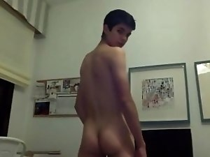 Spanish Cute Boy With Monster Cock Cums A Lot On Cam