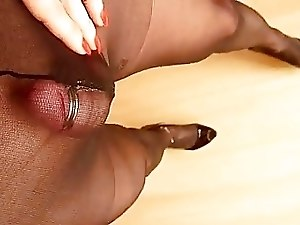 nails heels and pantyhose