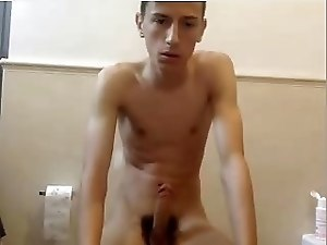 Italian Cute Boy Cums On Cam,Very Big Cock,Hot Tight Ass