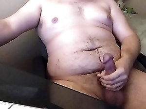 Cub jacking off (with cum)